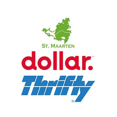 SXM MAP - Saintmartinsintmaarten - Dollar - Thrifty Car Rental
