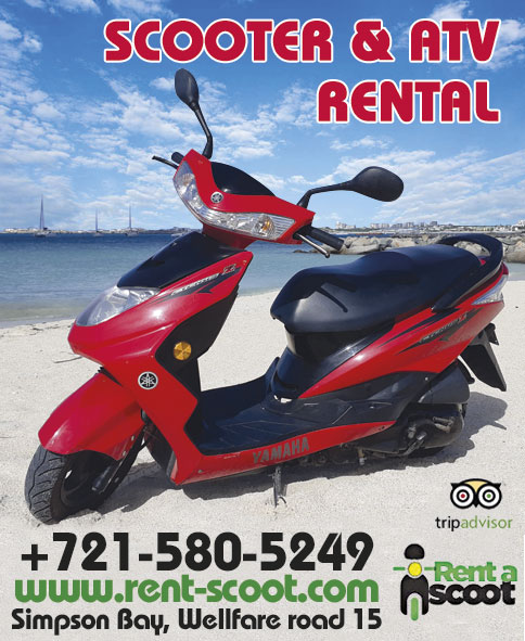 SXM MAP - Saintmartinsintmaarten - Rent a Scoot